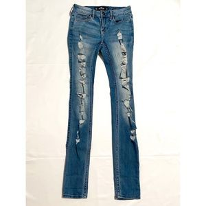 Holister ripped jeans
